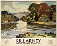 killarney (poster) by leonard richmond