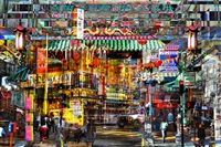 yellow corner at chinatown frisco by yves bady