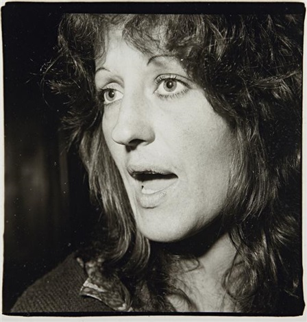 germaine greer nyc by diane arbus