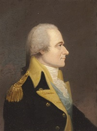portrait of alexander hamilton by william j. weaver