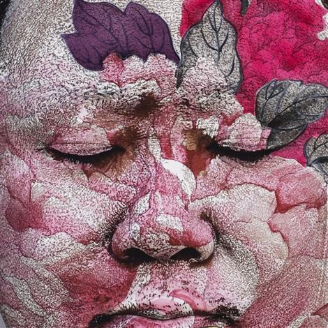 selt portrait by huang yan