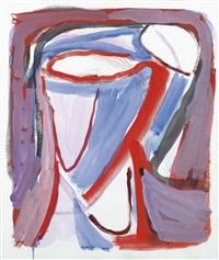 sans titre (parcours rouge) by bram van velde