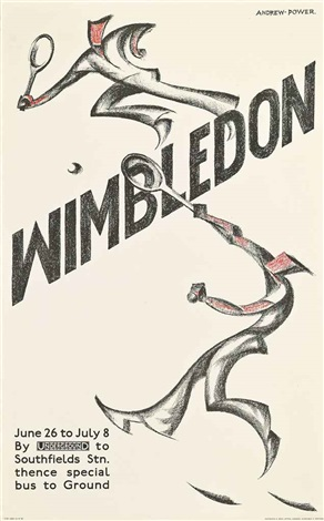 wimbledon by sybil andrews