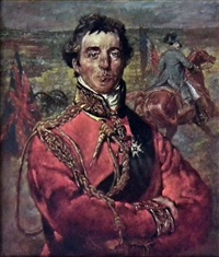 portrait of the duke of wellington by kenneth newton