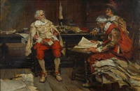 in the library by edgar bundy