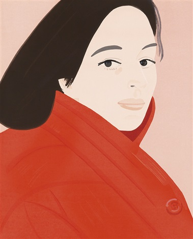 brisk day i ii and iii by alex katz
