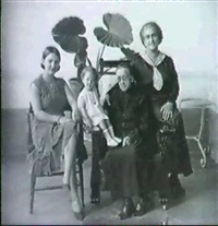 frida kahlo's family by guillermo kahlo