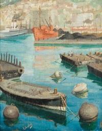 port d'alger by rufino 'cebal' ceballos