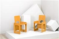 coppia di poltroncine pieghevoli mod. la prora (pair) by anonima architects