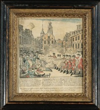 the bloody massacre (brigham pl. 14) by paul revere