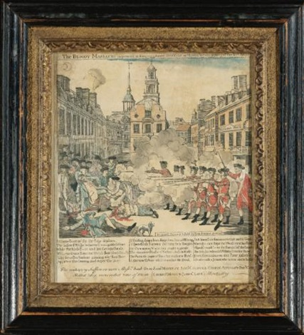 the bloody massacre brigham pl 14 by paul revere