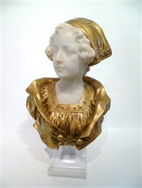 jeune femme by george van vaerenbergh