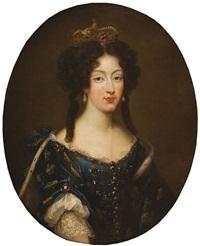 maria luisa de orleans, reina de españa by pierre mignard the younger