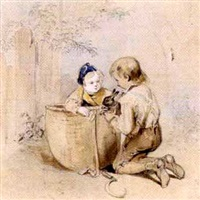 spielende kinder by joseph heicke