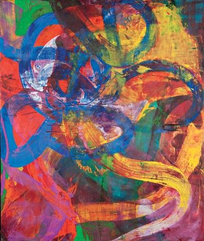 untitled (steps) by bill jensen