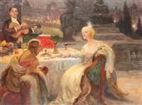 at the ball by sigmund vajda