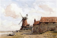 cley mill by arthur gerald ackermann