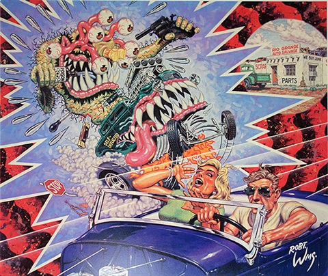 snuff fink 10 works by robert williams