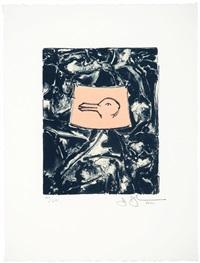 untitled (from harvey gantt portfolio) by jasper johns