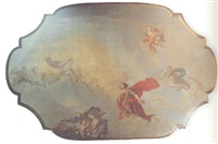 ceiling decoration by elias van nymegen