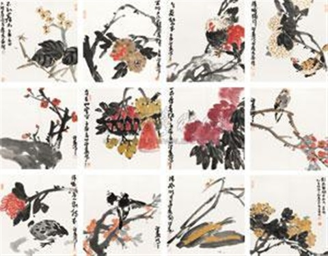 花卉 album w12 works by bo shaoji