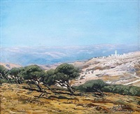jerusalem by louis gustave cambier