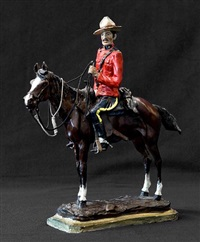 royal canadian mounted policeman by earle erik heikka