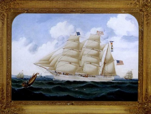 american ship anglo saxon by william gay yorke