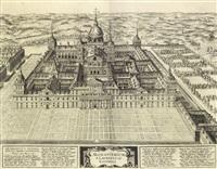 monasterio de san lorenzo del escorial by joris (george) hoefnagel