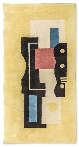 tapis jaune n° 9 by fernand léger