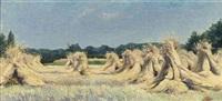 haystacks by johannes graadt van roggen