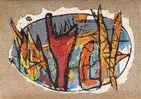 creation du monde by marcel janco