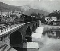 la 140, n°4010, sur le pont de la meuse à revin by henri vial