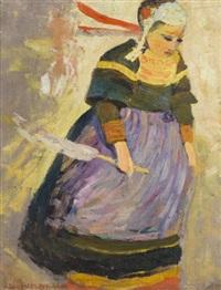 bretonne by robert delaunay