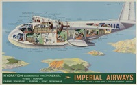 imperial airways by posters: aviation