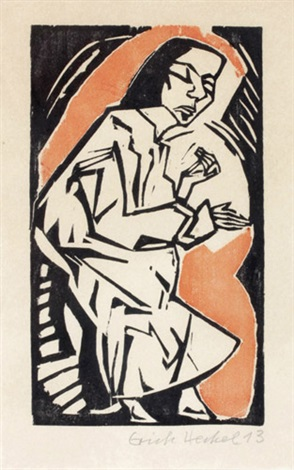 liegende by erich heckel