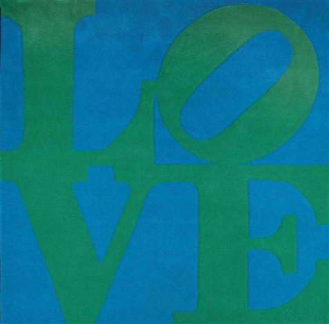 chosen love rug by robert indiana