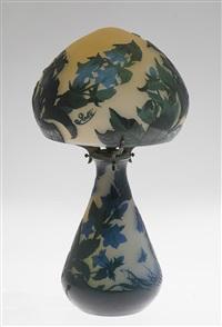 lampe de table champignon by émile gallé