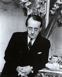 malraux in seinem bureau in paris by barbara pflaum
