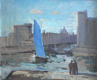 le port de la rochelle by edmond sigrist