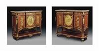 meubles à hauteur d'appui (pair) by françois linke