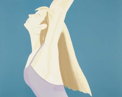 night. william dunas dance i-iv (set of 4 works) by alex katz