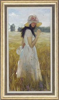 in the wheat fields by maria boohtiyarova
