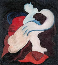 untitled - form enlacée by charles daudelin