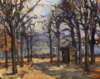 tuileries by maurice fongueuse