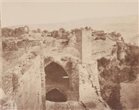 kalaat-el-markab (margat)(2 works) by louis de clercq