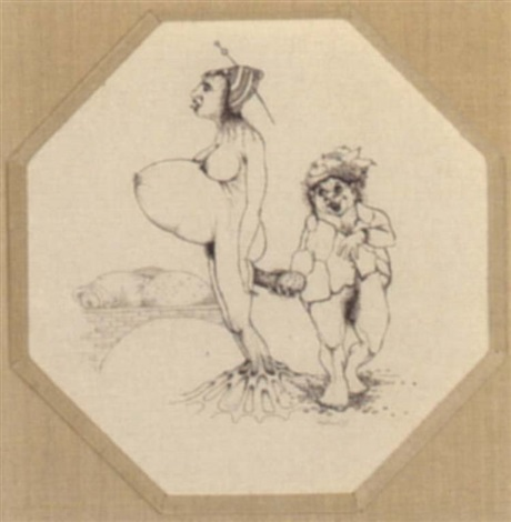 erotic scene by hans kanters