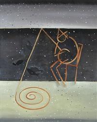 hans castorp (study no.2) by suzanne caporael