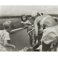 crabbing at pawley's by sally mann