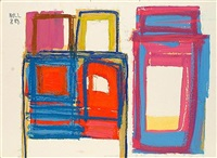abstract composition by james hull